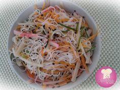 Salada de Bifum http://www.anaclaudianacozinha.com/2014/01/salada-de-bifum.html