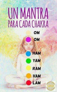 Mantras for each chakra - Modern Meditation Musik, Reiki Meditation, Mindfulness Meditation, Yoga Mantras, Chakra Mantra, Chakra Healing, Power Workout, Boxing Workout, Yoga Kundalini