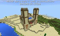 Minecraft PE upravený chrám