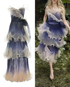 haute couture fashion Archives - Best Fashion Tips Pretty Outfits, Pretty Dresses, Beautiful Dresses, Marchesa, Couture Dresses, Fashion Dresses, Haute Couture Fashion, Fashion Show, Fashion Design