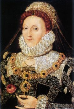 Portrait of Queen Elizabeth I.