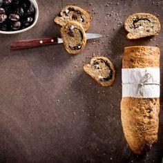 Ελιόπιτα με φέτα / Whole meal bread with olives and feta cheese. Πεντανόστιμη ελιόπιτα ολικής άλεσης με φέτα! #greekfood #greekrecipes #greekfoodrecipes #homemadebread #homemade #breadrecipes #olives #feta #fetacheese #bread #foodphotography #wholemeal #wholemealbread #συνταγές Feta, Dairy, Cheese