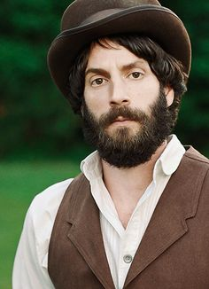 Just lemme take off your hat.  And vest.  And collared shirt, you bearded, bard-like, Lothario, you.