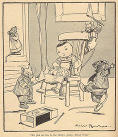 Harry Rountree,  Naughty Mice   by ElfGoblin