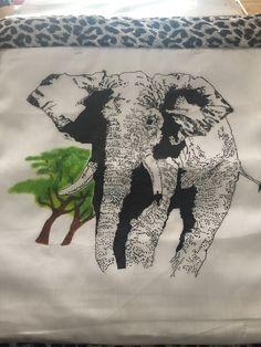 Elephant cushion cover : Session 3 Elephant Cushion, Cushion Covers, Moose Art, Cushions, Crafty, Animals, Animales, Toss Pillows, Animaux