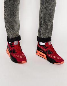 100% authentic d4c86 602f7 Nike Air Max 90 Ultra Breeze Trainers 725222-600 at asos.com