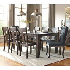 Found it at Wayfair - 9 Piece Dining Set