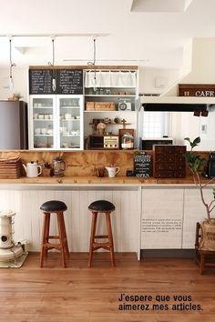 居心地良さそうな台所