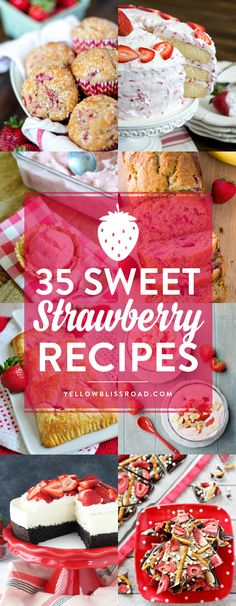 Check out these sweet strawberry recipes for a fun new way to serve strawberries this season.