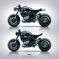 Kawasaki Z800 Cafe Racer design by Jakusa Design (@jakusadesign) #motorcycles #caferacer #motos | caferacerpasion.com