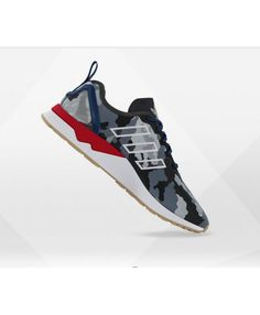 69c9337dd459e Adidas Zx Flux Adv Mens Mesh Night Camo Shoes Adidas Zx Flux Black, Camo  Shoes