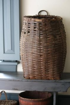 I love old baskets