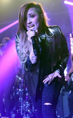 Demi Lovato estremeció al público de Londres