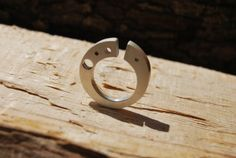 Sterling Silver Ring - Contemporary Design - Made to order - Handmade