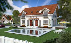 proiecte-de-case-duplex-duplex-house-plans-8 Design Case, Home Fashion, House Plans, Mansions, House Styles, Home Decor, Houses, Decoration Home, Manor Houses