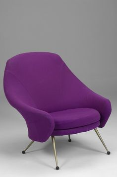 M<3 Marco Zanuso, Martingala Lounge Chair for Arflex, 1957.