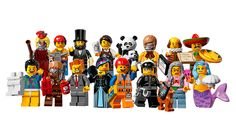 Series 12 is all about the movie...Exclusive: All the cool official minifigs from The Lego Movie