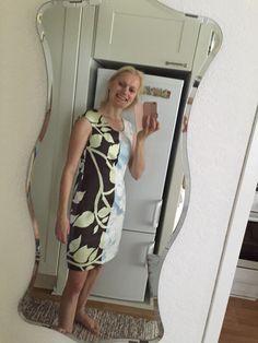 Pitkästä aikaa tuli ommeltua mekko! Marimekon Madison Wi -kankaasta