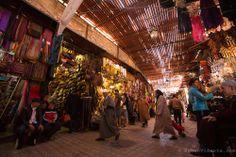 Marrakesh souk. Morocco