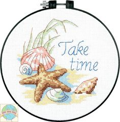 Dimensions Learn a Craft - Take Time - Cross Stitch World