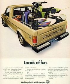 Vw Caddy Mk1, Vw Group, Small Trucks, Vw Cars, Car Advertising, Pick Up, Vintage Cars, Volkswagen, Jeep