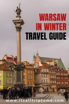 Planning a winter escape? Here's our complete guide to Poland's charming capital. Find out what winter in Warsaw is like, top things to do in Warsaw and a lot more about one of Europe's most laid-back destinations! #warsawtravel #visitwarsaw #polandtravel #thingstodoinpoland #budgetdestinations #traveleurope