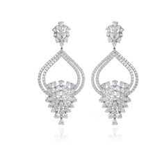 Farah Khan Fine Jewelry Starburst Earrings