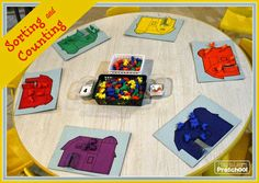 sorting and counting farm animals