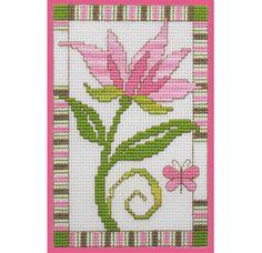 Stitch Pink Flower