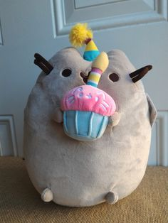 "Gund - Pusheen Birthday 10"" – Blashful"