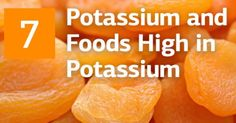 Potassium and 7 Great Foods High in Potassium   Did you know, that #potassium   deficiency can cause problems with converting glucose into energy? http://recipeofhealth.com/articles/healthy-food-recipes/potassium-and-7-great-foods-high-in-potassium #energybalance   #bodyenergy   #superfood  by #recipeofhealth