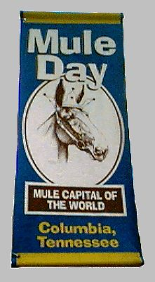 Mule Day Columbia, TN Favorite Fay of the year!