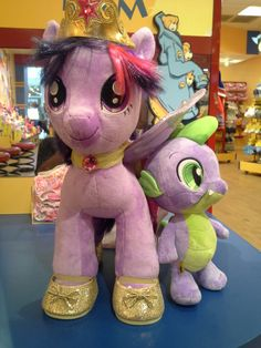 Princess Twilight Sparkle and Spike (Build-a-Bear Workshop)