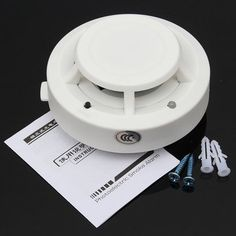 Wireless Smoke Detector Home Security Fire Alarm Photoelectric Sensor System