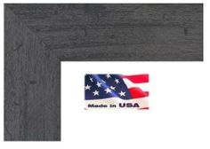 19x36 custom elegant flat grey 15 inch distressed barnwood finish picture poster frame wood composite usart