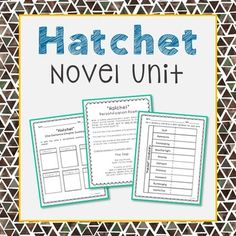 Hatchet book novel study guide pdf reading quizzes vocab tests hatchet novel unit study activities interactive notebook and worksheet formats fandeluxe Image collections