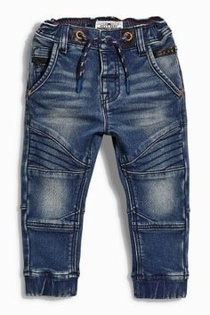 awesome Buy Jersey Biker Pull-On Jeans online today at Next: United States of America Kids Fashion Boy, Toddler Fashion, Baby Boy Outfits, Kids Outfits, Baby Jeans, Pull On Jeans, Baby Kids Clothes, Kids Prints, Kid Styles