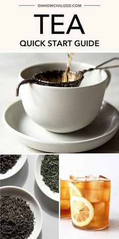 First timer or not, you'll enjoy all the tea recipes in this quick starter guide. Take it from a tea sommelier to make each one properly, without any added fuss! Click to explore. Hot Tea Recipes, Drink Recipes, Tea Etiquette, Making Iced Tea, Homemade Tea, Perfect Cup Of Tea, Tea Time Snacks, Tea Sandwiches, Brewing Tea