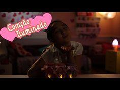 Coisas que Gosto: Como criar uma luminária de corações com a Nina ❤ ...