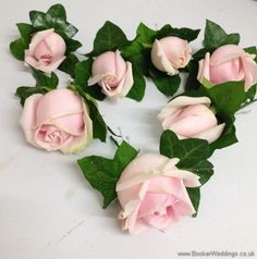 Pink Spray Rose and Ivy Buttonhole | Wedding Flowers Liverpool, Merseyside, Bridal Florist, Booker Flowers and Gifts, Booker Weddings, Flower delivery Liverpool