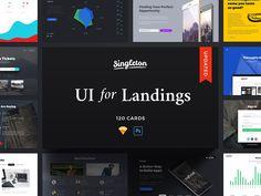 Singleton UI Pack - Web Elements - 1