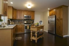 Beautiful open kitchen at my listing on 953 Windsor Court Napa CA. 94558