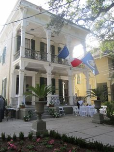 Degas House - New Orleans - USA. The famous French artist lived here for six months.