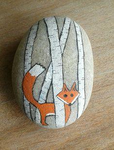 Penguin Rock Art - Ornamental Grasses - Art # Ornamental Grasses and . Rock Painting Ideas Easy, Rock Painting Designs, Paint Designs, Pebble Painting, Pebble Art, Stone Painting, Stone Crafts, Rock Crafts, Arts And Crafts