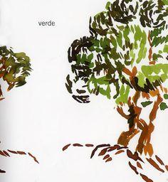Plant Leaves, Illustration, Plants, Book, Green, Colors, Illustrations, Plant, Planets