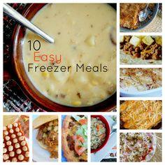 10 Easy Freezer Meals