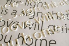 How to make letters to put on a canvas using stencils and puffy paint