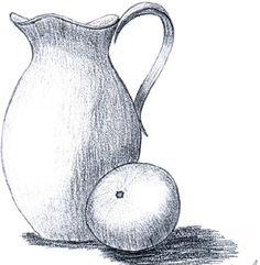 natürmort karakalem vazo - Google'da Ara