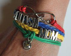 Autism Mom Autism Awareness Bracelet by AmysBubblingBoutique
