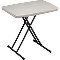 personal folding table at staples